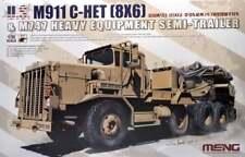 Meng 1/35 M911 C-HET (8x6) & M747 attrezzature pesanti Semirimorchio # SS-013
