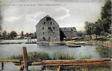 Old Mill Port Washington Long Island NY Vintage postcard postally used in 1909