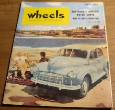 May 1953.WHEELS.No1. First Issue. 1993 RE-PRINT.ALVIS 3-Litre Saloon.Rolls-Royce