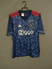 Ajax Jersey 2017 2018 Away 15-16 y Youth Blue Shirt Football Adidas AZ7878 ig93