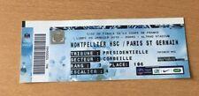 @ TICKET - MHSC MONTPELLIER - PARIS PSG - COUPE DE FRANCE CF - 2014-15 @