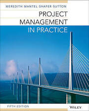 Project Management in Practice 5E by Jack R. Meredith Paperback Book (English)