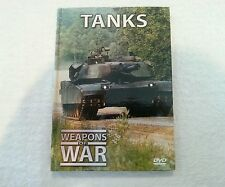 "WEAPONS OF WAR DVD AND BOOK SET ""TANKS"" Number 6 dvd"