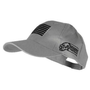 Voodoo Tactical 20-9351014000 Men's Grey Contractor Cap w/USA Patch OSFM