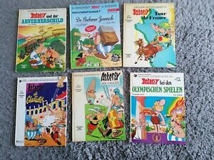 Asterix Hardcover 6 Bände