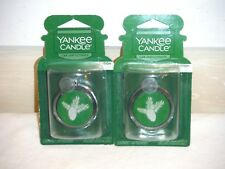 Yankee Candle Balsam & Cedar - 2 ultimate car jars car air fresheners new
