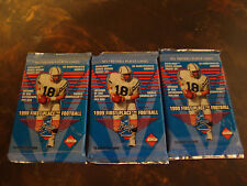 1999 Collector's Edge First Place Football---Hobby Packs---Lot Of 3---12 Cds/Pk