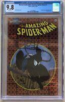 1998 MARVEL COLLECTIBLE CLASSICS CHROMIUM - SPIDER-MAN #1 CGC 9.8 #300 VENOM