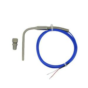 90° Bend EGT K type Exhaust Temperature Sensors Probe w 3.3~16.5 ft Telfon Cable