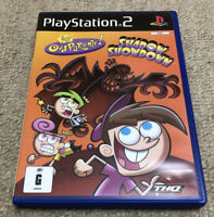 Fairly Odd Parents Shadow Showdown PlayStation 2 PS2 Game PAL Rare Complete AUS