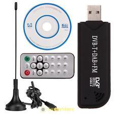 USB 2.0 TV Tuner Stick Receiver RTL2832U R820T DVB-T RTL-SDR+DAB+FM Dongle