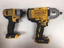 """DeWALT DCF899 1/2"""" Impact w/DCF885 1/4"""" Impact Driver w/ 2 Batteries/Case"""