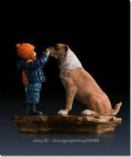 Estatuilla de perro
