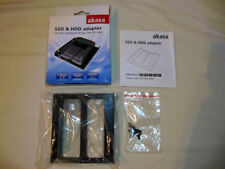"Akasa SSD & HDD Adapter fits 2 notebook 2.5"" drives into PC case"