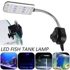 New listing Flexible Arm 24 Led Aquarium Lamp Plant Grow Light Clip on Fish Tank Lighting