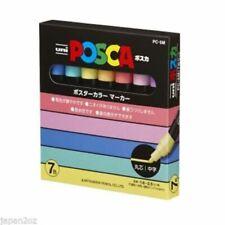 7 Uni Posca pastell Farbe Lack Stifte pc-5m 1.8-2.5mm Farbe Marker Japan