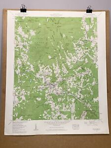 Spruce Pine Pisgah Forest North Carolina Tennessee Valley Authority TVA 1960 Map