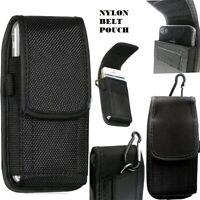Universal Nylon Belt Hook Pouch Case Holster Fastener Bag for Samsung Phone