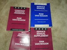 2002 Ram Van/Wagon Original Service Repair Manuals