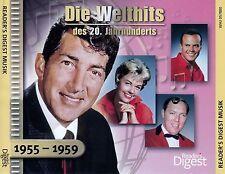 DIE WELTHITS DES 20. JAHRHUNDERTS : 1955-1959 / 3 CD-SET - TOP-ZUSTAND