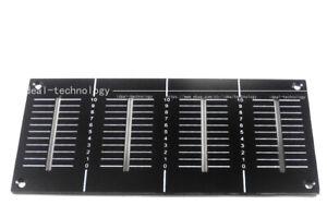New OEM replacement Plate For DJM800 Channel Fader Panel DAH2426/DAH2427