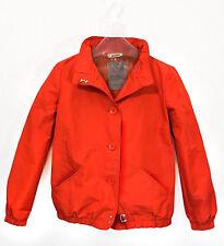 DKNY Jacke Jacket Blouson Blazer Damenjacke Sommerjacke DE 36 38 rot orange K8
