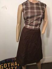 New listing Vintage Brown Dress