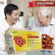 LINHZHIMIN Dietary Supplement Linhzhi Mushroom Red Reish Extract Vitamin