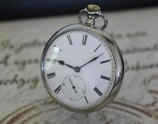 Rare große antike JUNGHANS 33 Taschenuhr pocket watch