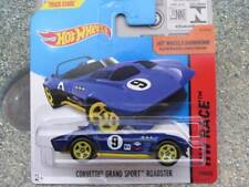 Hot Wheels 2015 #179/250 CORVETTE GRAND SPORT ROADSTER blue New Casting CASE B