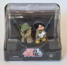 Star Wars Disney Star Tours Exclusive Yoda & Mickey Mouse Action Figure Set
