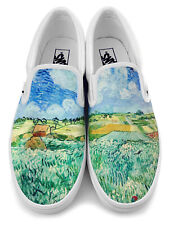 Van Gogh Landscape Slip-on Vans Brand Shoes
