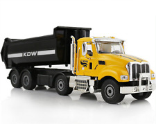 1:50 Diecast Alloy American Dump Truck Tipper Toy Engineering Vehicle Model Gift