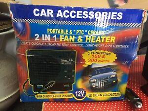 Portable Car Ceramic Heating Heater Fan Defroster Demister DC 12V 150W 300W PTC