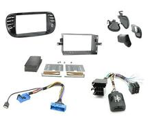 Connects2 CTKFT02 Fiat 500 2007 - 2015 Complete Double Din Fitting Kit