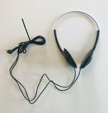 Vintage Sony Walkman MDR-013 Adjustable Original Over Ear Head Phones NO PADS