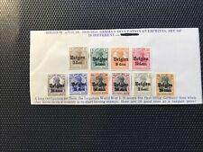 Belgium German Occupation Stamps Scott N10/26 Mint Unused Hinged