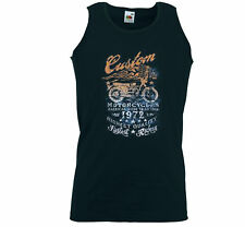 Biker Tank Top muscular camisa Custom 1 Bobber Motorcycle rockabilly