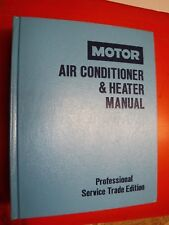 1987 DOMESTIC MOTOR'S AIR CONDITIONER SERVICE MANUAL CAR TRUCK 1986 IMPORTS
