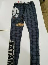 Tatami Thinker Monkey Mens MMA BJJ No Gi Competition Spats Compression Pants