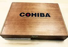 Cohiba Red Dot - Set of 2 Solid Wood Empty Cigar Boxes