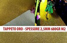 TAPPETO PASSATOIA REFLEX ORO GLITTER H. 100 VENDITA AL TAGLIO MULTIPLI DI 1 MQ