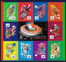 Timbres France Stamps -Souvenir Sheet -ʺ1998 Football Coupe du Mondeʺ #2624a MNH
