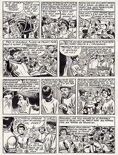 FULGOR (BILD) SUPERBE  PLANCHE ORIGINALE ARTIMA  ANNEES 1950 PAGE 11