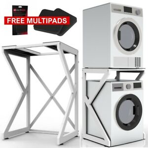 Dryer Stand Maxi: Portable Front Loading Washer Machine and Dryer Holder Shelf