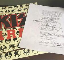 KISS Combo Marvel Comic Blood Contract School Portfolio Folder