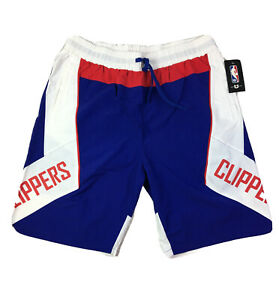 UNK NBA LA Clippers Basketball Shorts Blue/White/Red Men's Sz L MSRP $40.00 NEW.