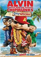 Alvin and the Chipmunks: Chipwrecked (DVD, 2012) WORLD SHIP AVAIL