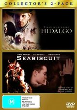 Hidalgo  + Seabiscuit  - Double Pack (DVD, 2007, 2-Disc Set) New/Sealed