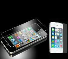 Tempered Glass Transparent Screen Protector Guard Shield For Apple iPhone 4S 4